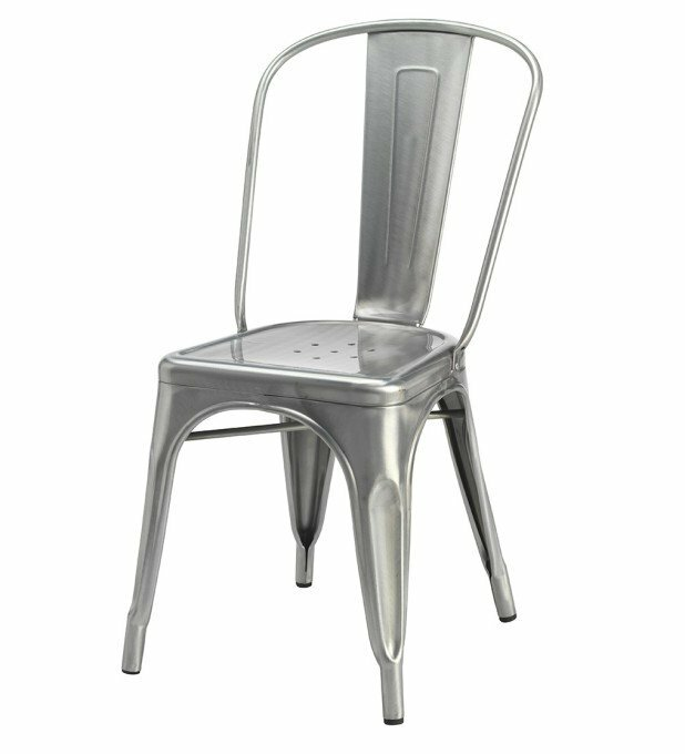 Chair Silver Tolix