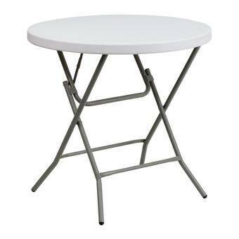 Folding Table Round Plastic